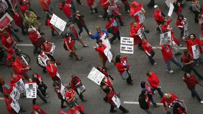 Chicago Teachers Union Goes On Strike