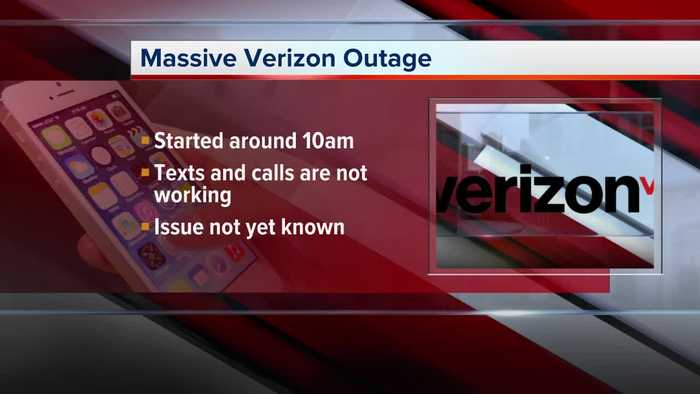 Verizon Wireless experiencing intermittent outages in Detroit area