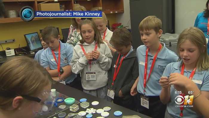 North Texas Students Visit Fort Worth Manufacturing Company
