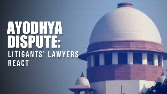Watch: Ayodhya dispute litigants' lawyers react after SC reserves judgment