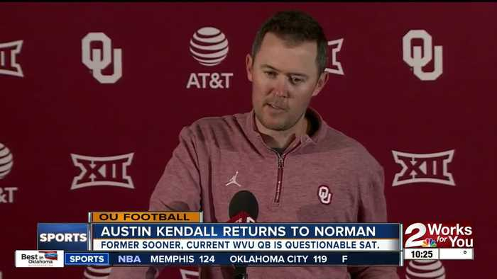 Austin Kendall returns to Norman, but as West Virginia's QB