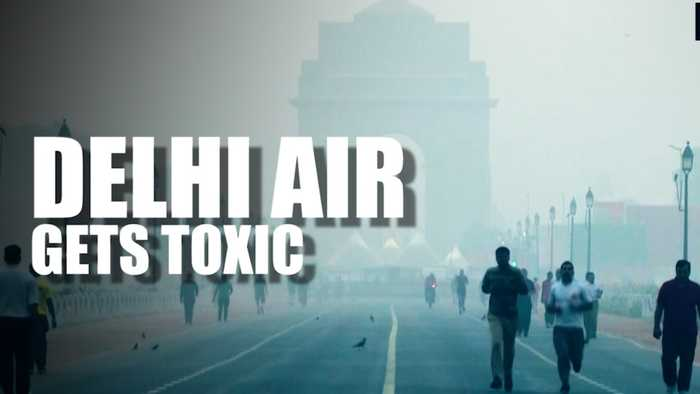 Delhi's air quality deteriorates; govt shares NASA's crop burning images