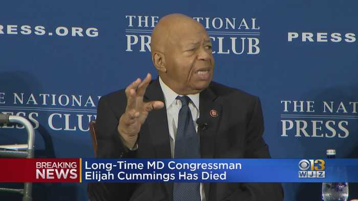 Rep. Elijah Cummings Passes Away At The Age Of 68.