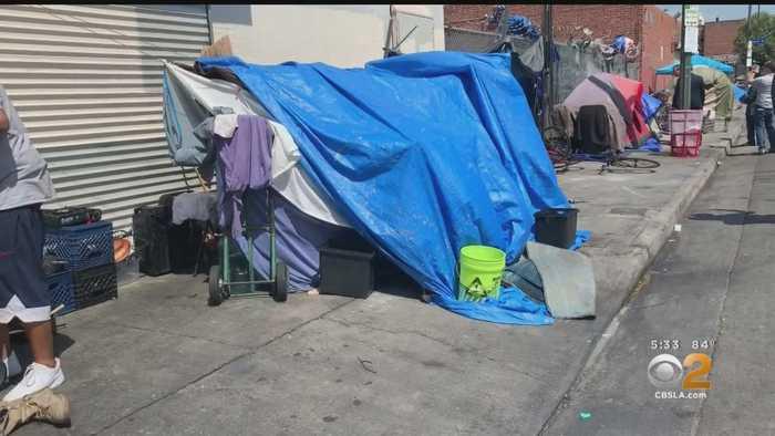 Garcetti Announces $1.5M Program To Help Homeless Women Living On Skid Row