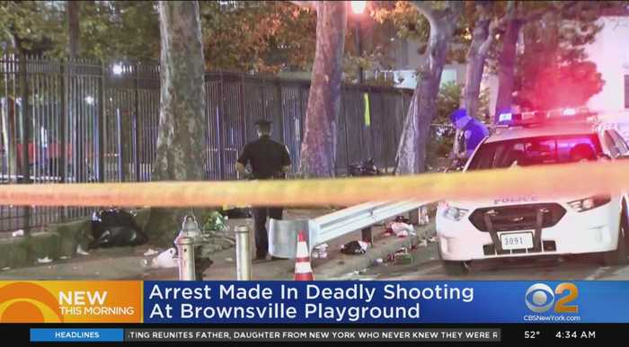Suspect Arrested In Brooklyn Playground Shooting
