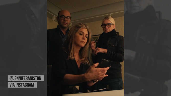 Jennifer Aniston breaks Instagram records with friends reunion photo