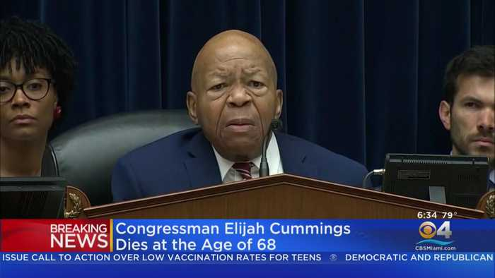 Maryland Rep. Elijah Cummings Has Died