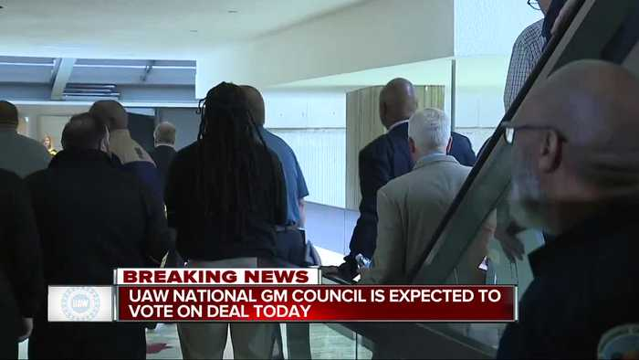 UAW National GM Council expected to vote on deal today