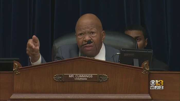 Maryland Rep. Elijah Cummings Dies At 68