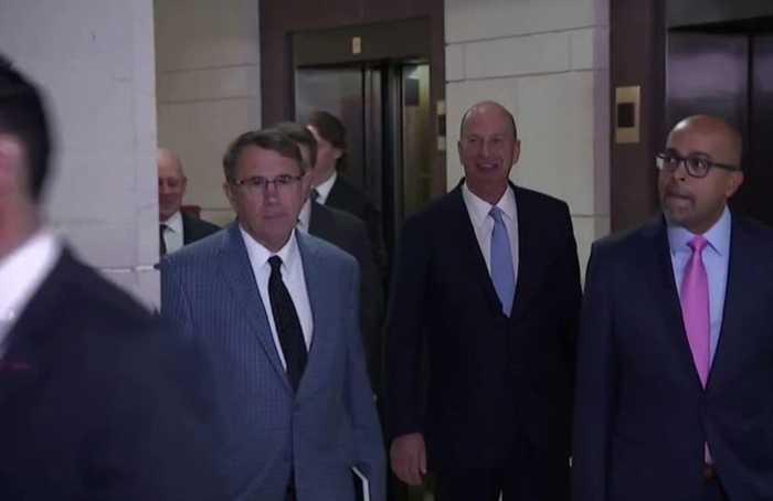 Key witness Sondland testifies in impeachment inquiry
