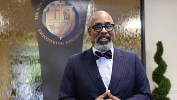New Psalmist Baptist Church's Bishop Walter Thomas reacts to the death of Rep. Elijah Cummings
