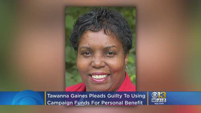 Ex-Maryland Del. Tawanna Gaines Pleads Guilty To Using Campaign Funds For Personal Benefit