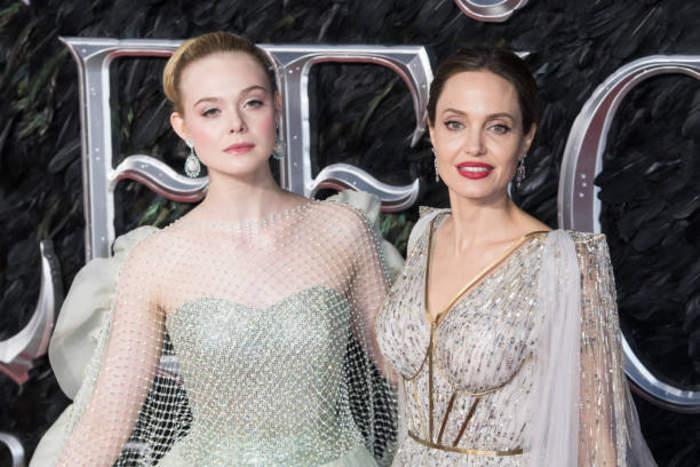Elle Fanning finds Angelina Jolie 'inspiring'