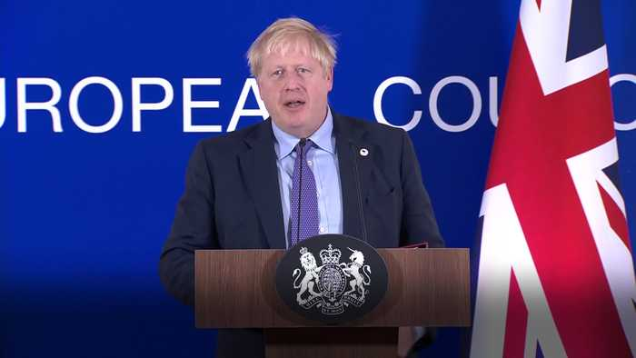Boris Johnson: I'm very confident MPs will back my Brexit deal
