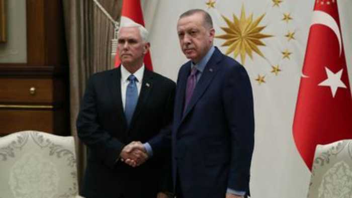 Turkey to stop Syria incursion after US talks