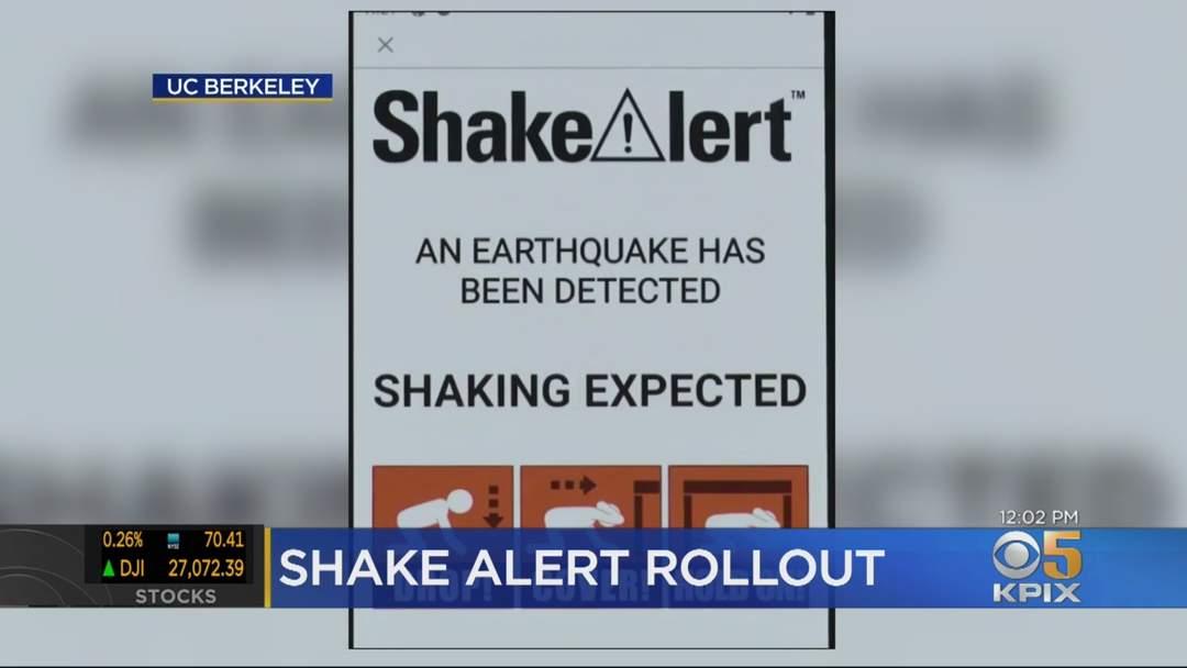 State Launches New Shake Alert App On Anniversary Of Loma Prieta Earthquake