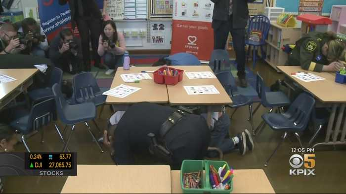SF Schools Host Earthquake Awareness Events During Great Shakeout
