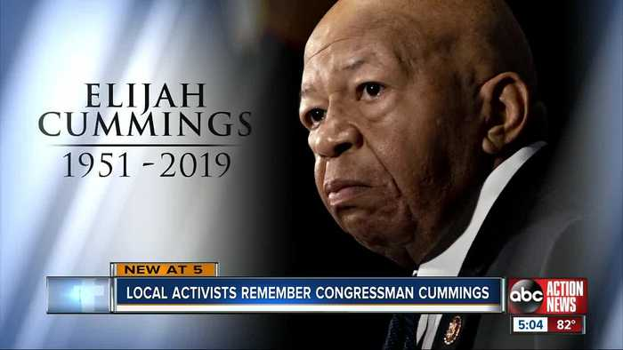 Local activists remember Rep. Elijah Cummings