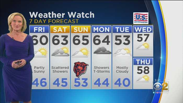 CBS 2 Weather Watch (5PM 10-17-19)