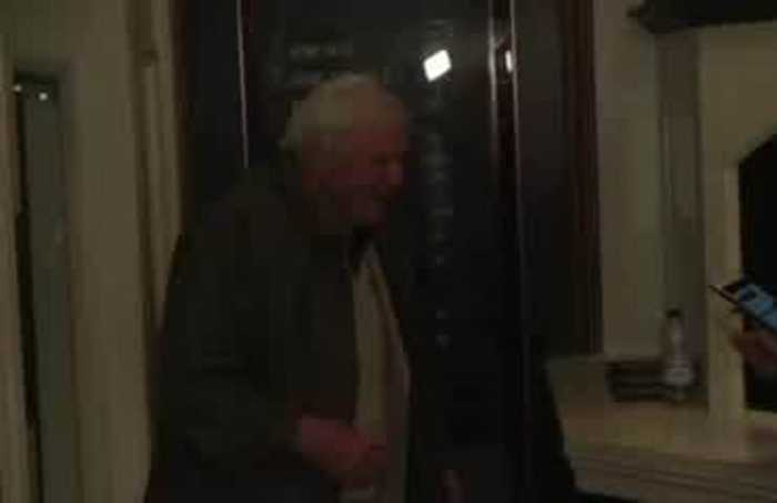 David Attenborough and celebrity guests attend