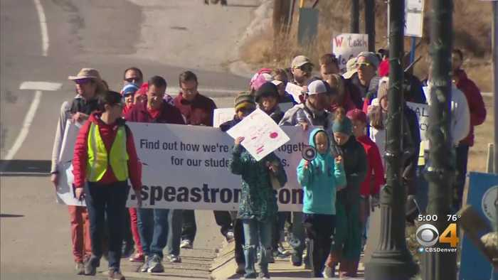 Park County Teachers Expected To Ask School Board President To Resign As Strike Continues