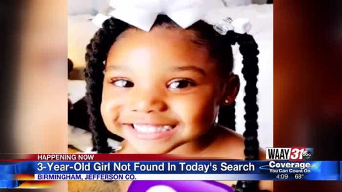 Reward increases for finding missing Birmingham girl Kamille 'Cupcake' McKinney