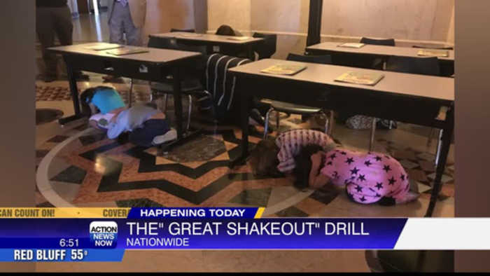 Millions of Californians to participate in Great ShakeOut drill