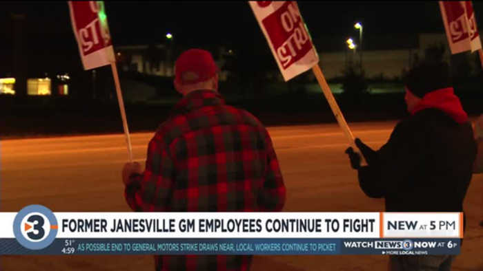 Former Janesville GM employees continue to fight