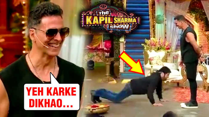 Akshay Kumar's HILARIOUS Challenge To Kapil Sharma | The Kapil Sharma Show Housefull 4 UNDEKHA Tadka