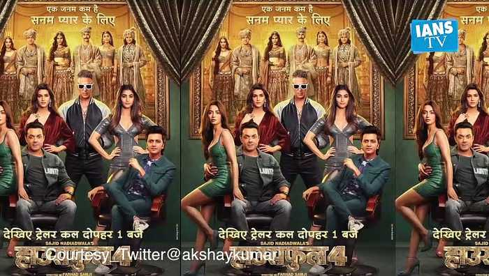 Akshay Kumar on 'Housefull 4' look: Not trying to ape anyone