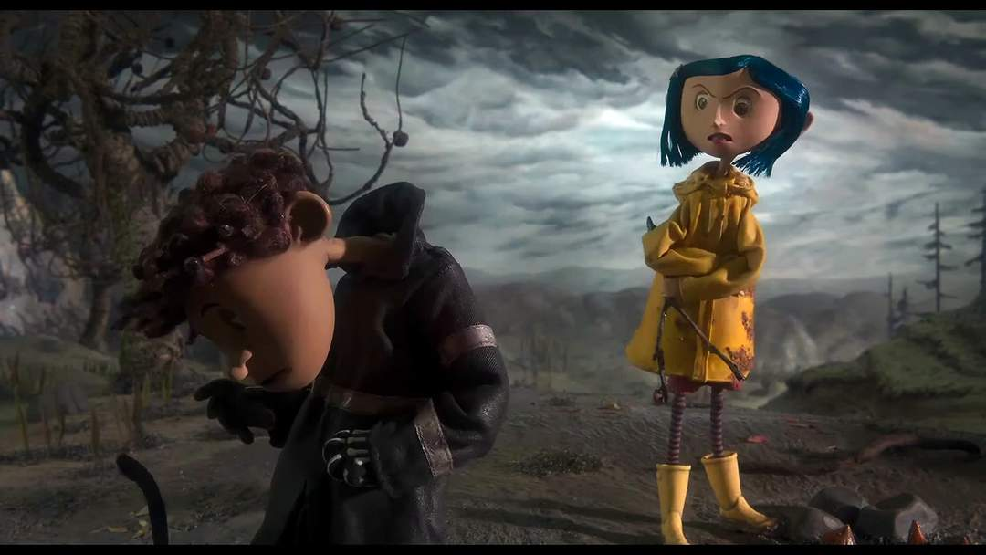 Coraline Movie Clip Why Born One News Page Video