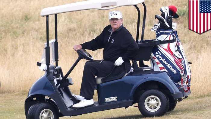 Trump picks own struggling golf resort to host next year's G-7