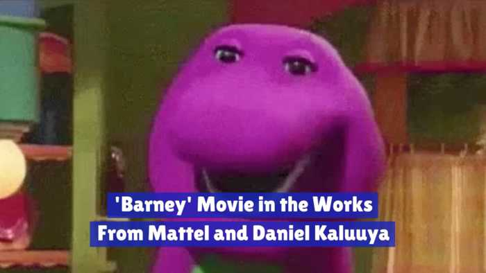 Daniel Kaluuya Works On A 'Barney' Movie