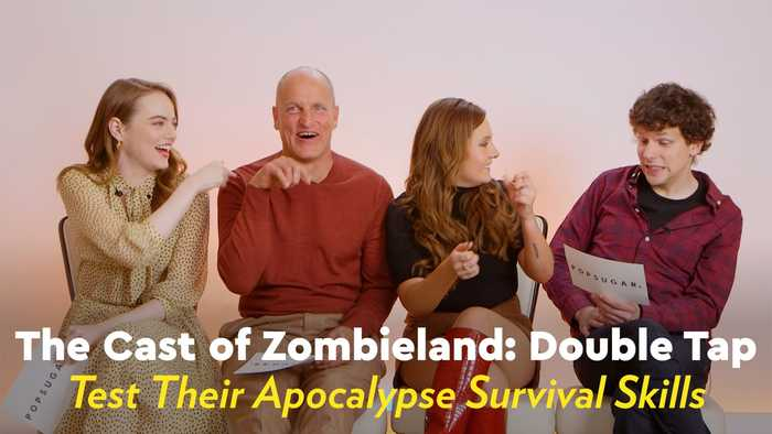 We Quizzed the Cast of Zombieland: Double Tap to See How Well They'd Survive an Apocalypse