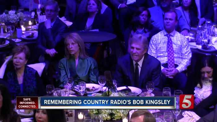 Country radio legend Bob Kingsley dies