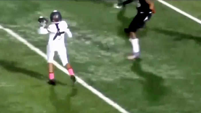 High School Football Team Scores on Trick Play With Female Player's TD Pass