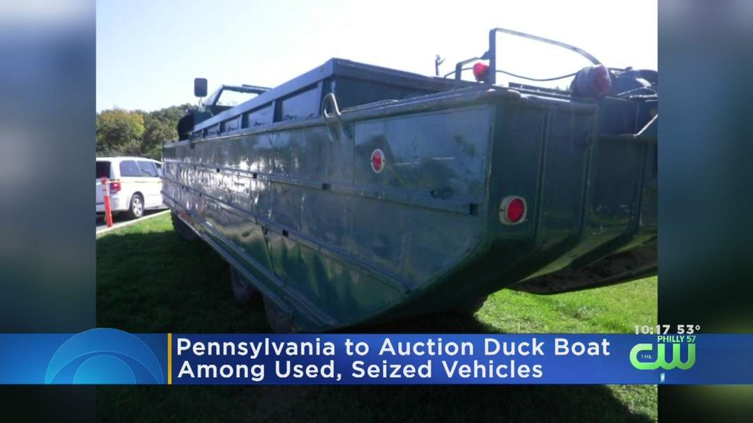 Pennsylvania To Auction Duck Boat