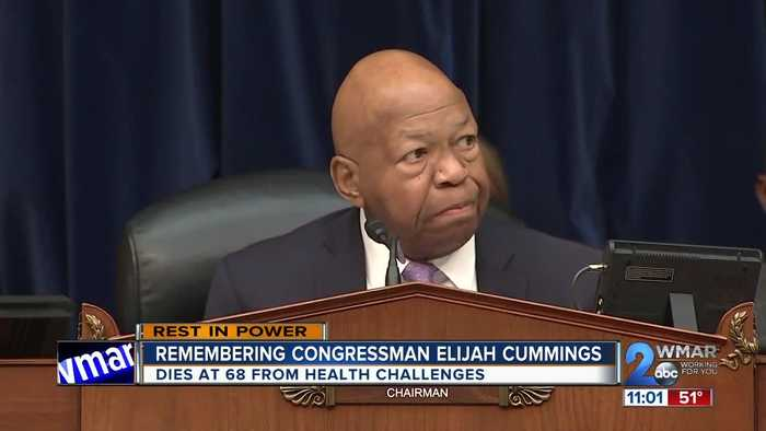 Maryland leaders react to the death of Congressman Elijah Cummings