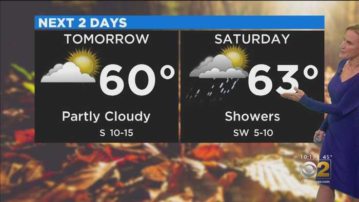 CBS 2 Weather Watch (10 P.M. 10-17-19)