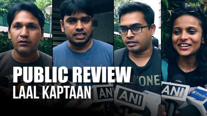 Laal Kaptaan | Public Review | Saif Ali Khan