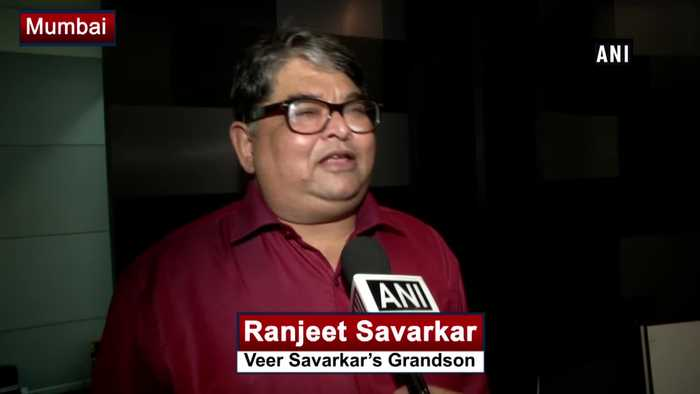 Indira Gandhi honoured Veer Savarkar as she was a follower of him Savarkar's Grandson