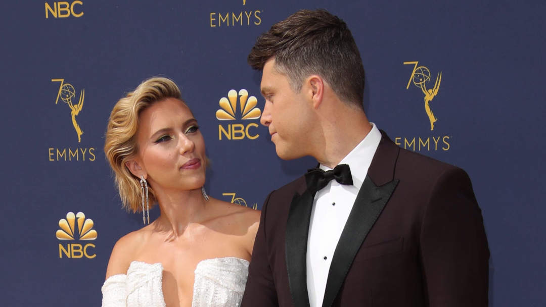 Scarlett Johansson Surprised By Colin Jost One News Page Video