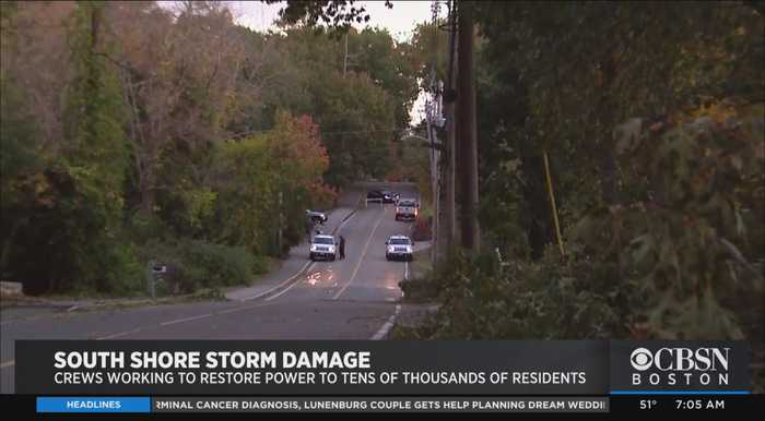 Thousands Without Power For Second Day After Record-Setting Storm