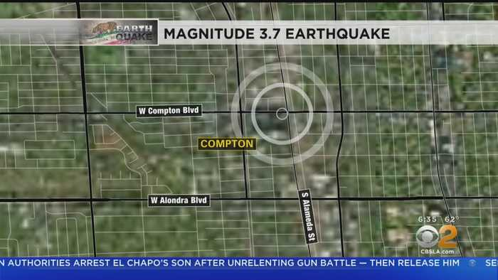 Magnitude-3.7 Earthquake Strikes Compton