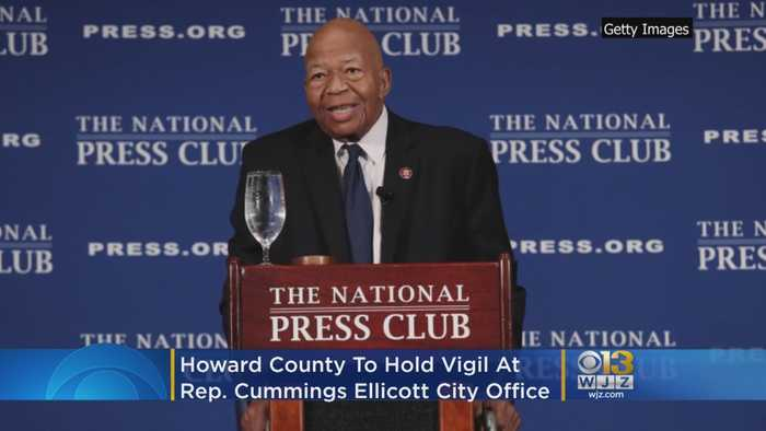 Howard County Exec To Hold Vigil At Rep. Elijah Cummings' Ellicott City Office