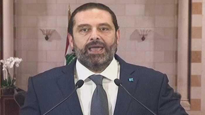 Lebanon PM Hariri addresses mass protests over economy