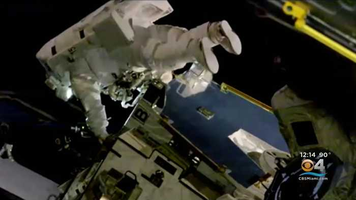 US Astronauts Make Historic First All-Female Spacewalk