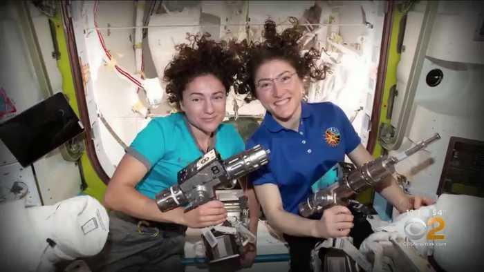 All-Female Astronaut Spacewalk Team Make History