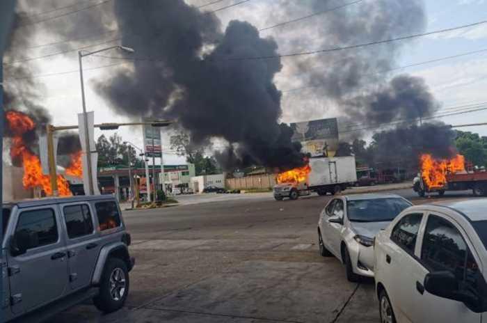 Gun Battles Erupt in Mexico After Son of 'El Chapo' Is Captured