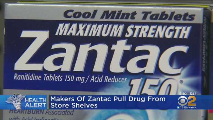 Makers Of Zantac Pull Drug From Store Shelves